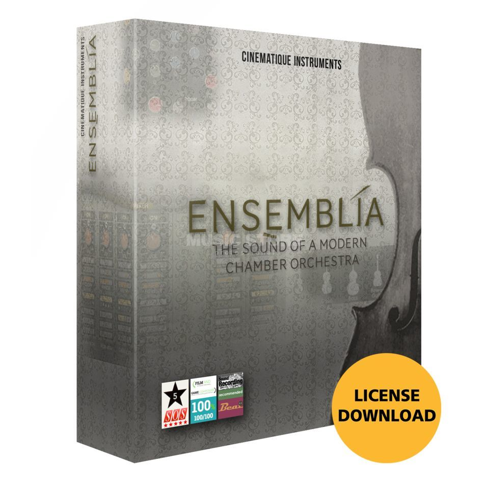 Cinematique Instruments Ensemblia License Code Imagem do produto