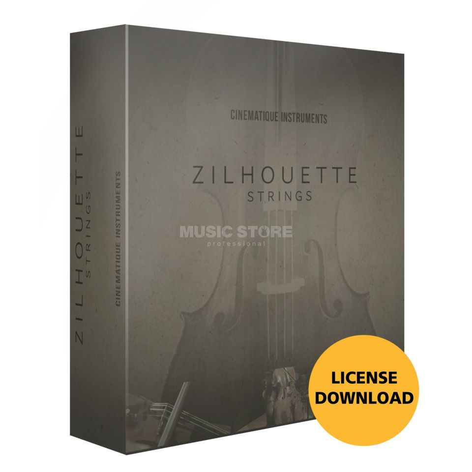 Cinematique Instruments Zilhouette Strings License Code Imagem do produto