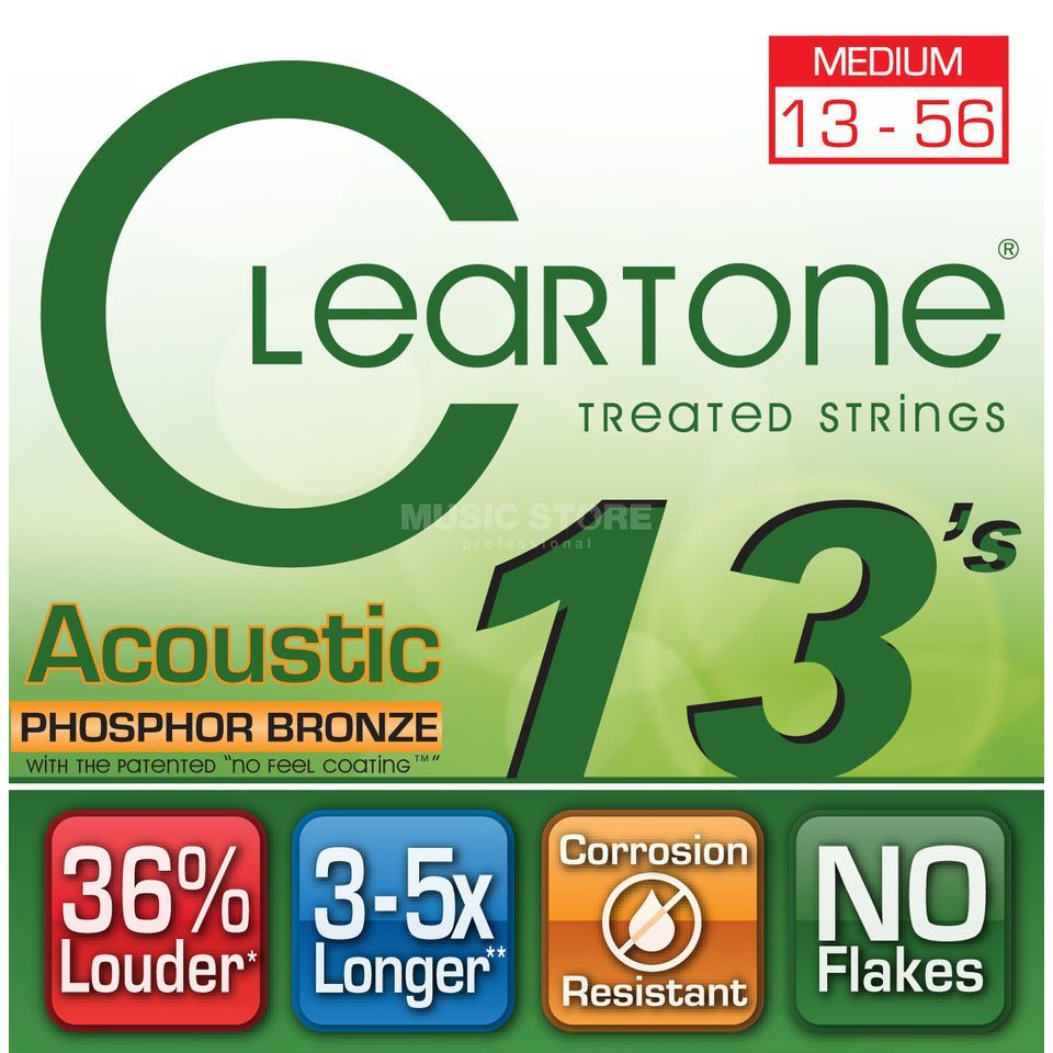 Cleartone CT7413 13-56 Phosphor Bronze EMP Coated Medium Produktbild