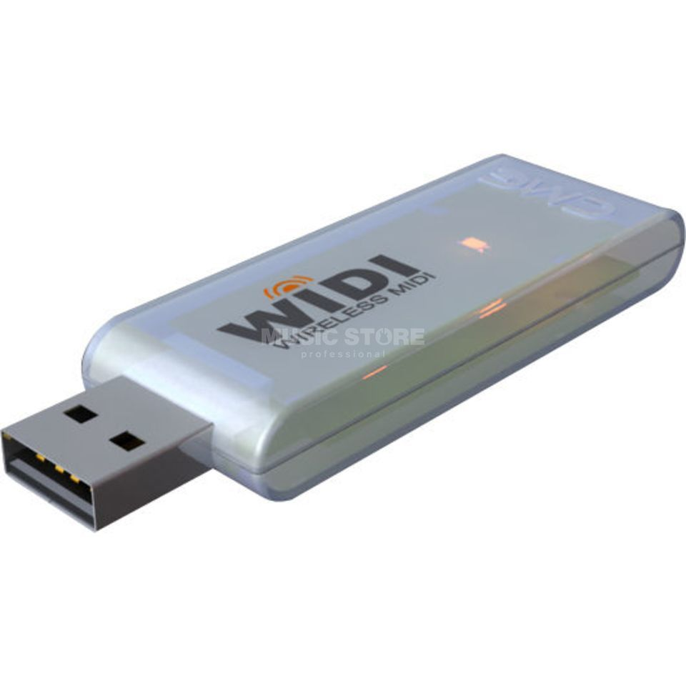 CME WIDI-XU Flash Wireless MIDI Interface / USB Dongle Produktbillede
