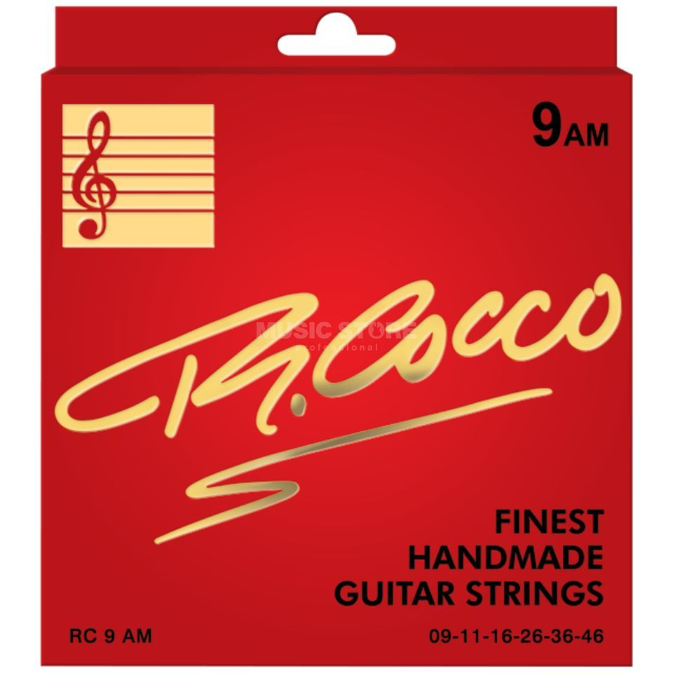 Cocco RC 9AM Electric Nickel Wound 9-46 Produktbild