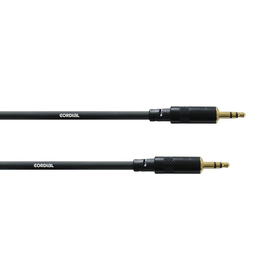 Cordial CFS 3 WW intro Mini Jack Cable 3m Rean Product Image
