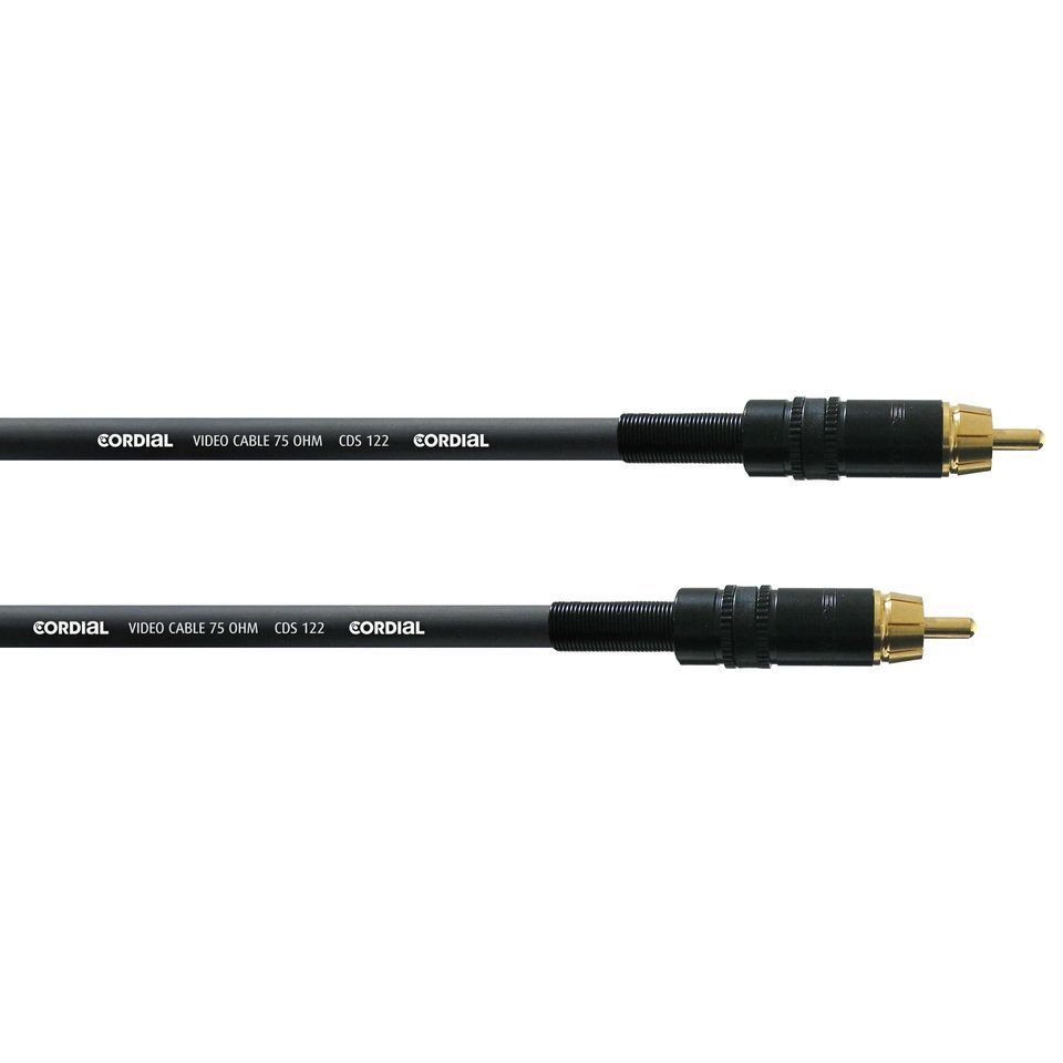 Cordial CPDS 3 CC S/PDIF Interface Cable 3m Rean Produktbillede