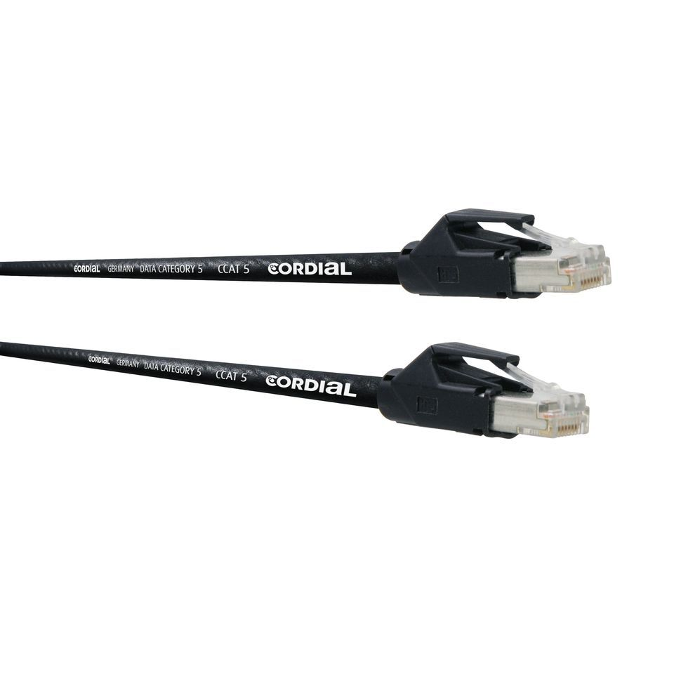 Cordial CSE HH 5 CAT 5 Data Cable 2,5m RJ 45 / RJ 45 Produktbillede