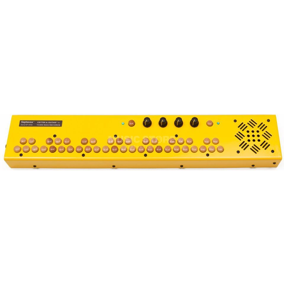 Critter & Guitari Septavox Yellow Produktbild