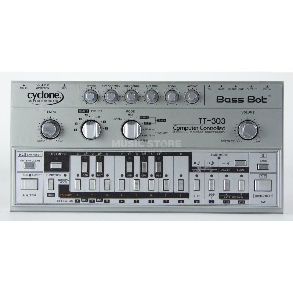 Cyclone Analogic TT-303 Bass Bot Analogue Synthesizer Produktbillede