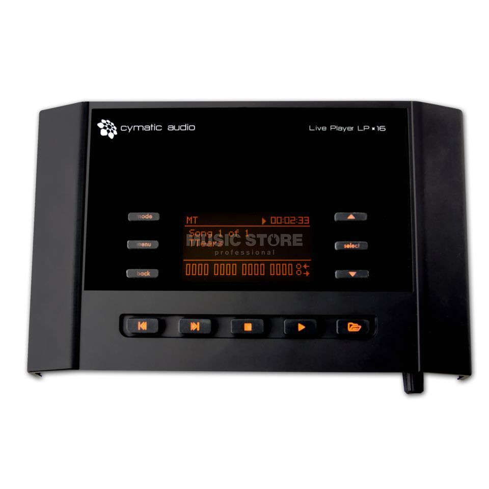 Cymatic Audio Live Player LP-16  Produktbild