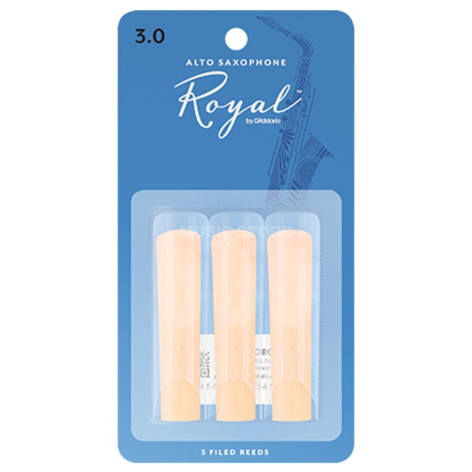 D'Addario 3.0 Alto Sax Reeds 3 Pack Product Image