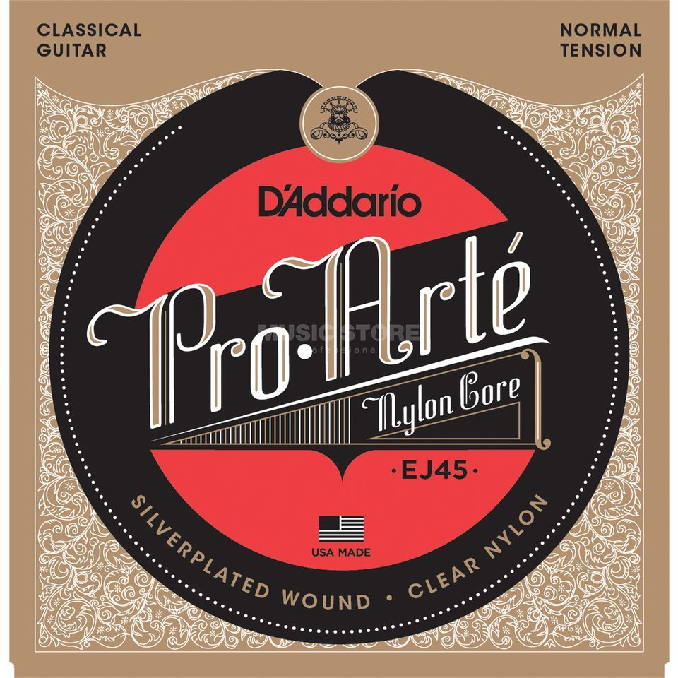 D'Addario C-Guitar Strings Normal EJ45 Produktbillede