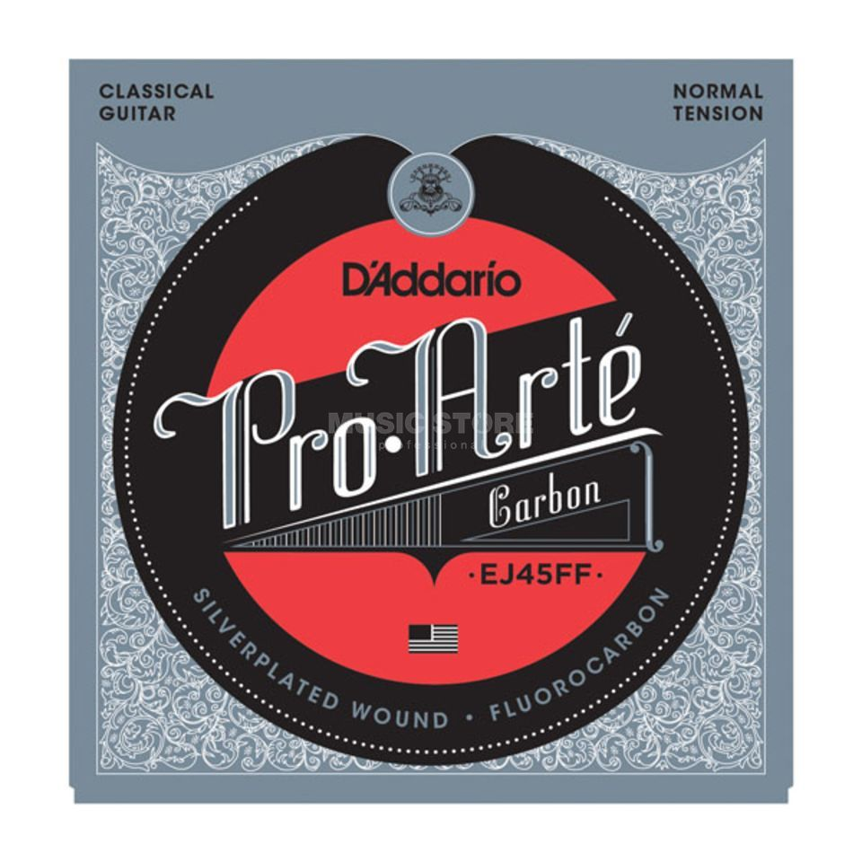 D'Addario Carbon Strings EJ45FF Pro Arte, Normal Produktbillede