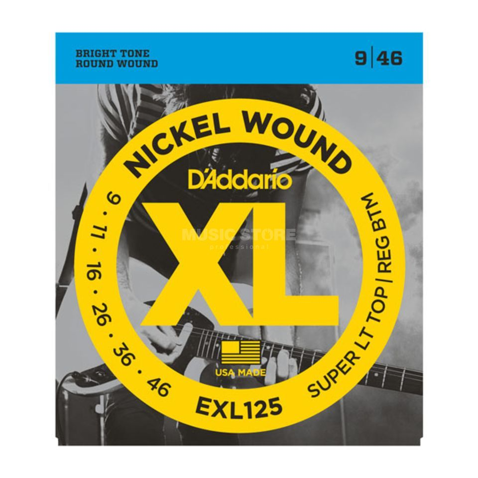 D'Addario E-Guitar Strings EXL125 09-46 Nickel Wound Produktbillede
