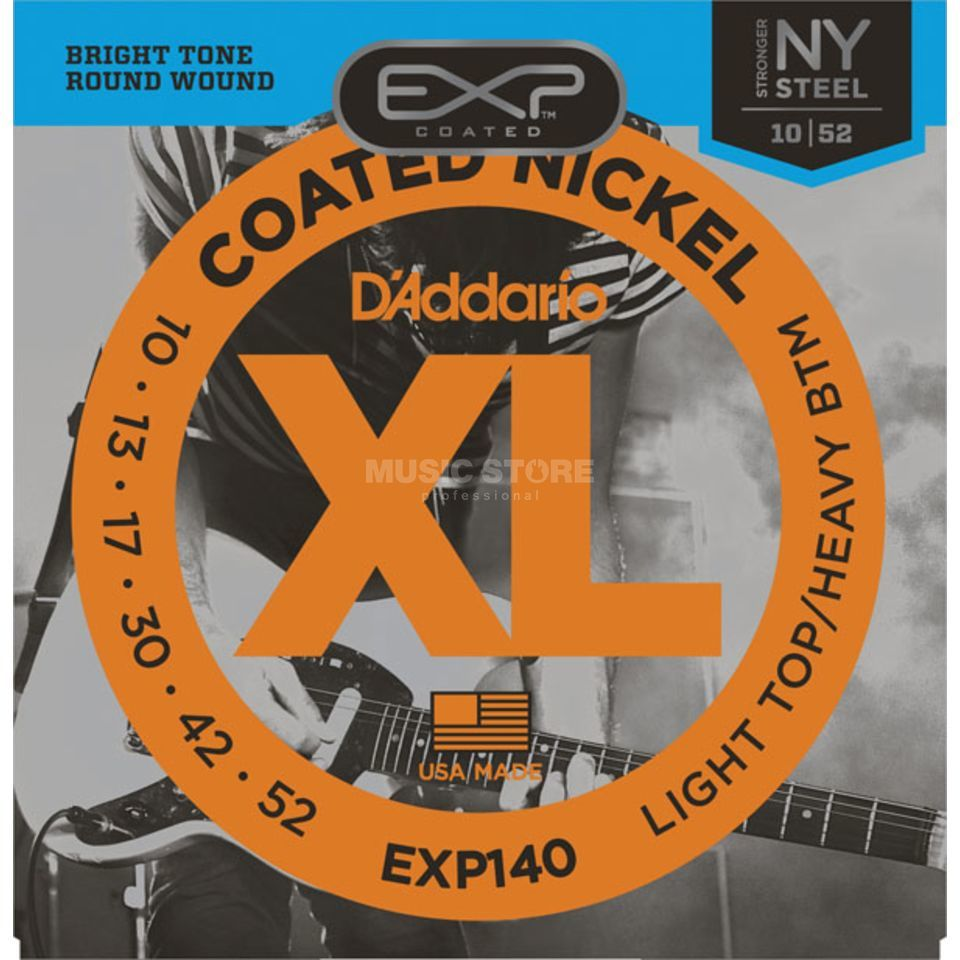 D'Addario EXP140 10-52 Coated Nickel Plated Produktbillede