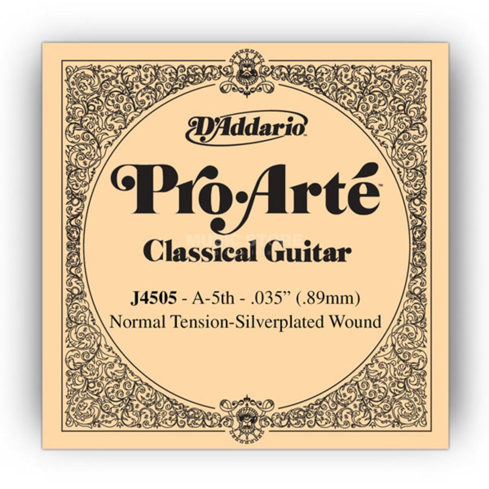 D'Addario J4505 A5 Pro Arte Single String Normal Tension  035/J45 Immagine prodotto