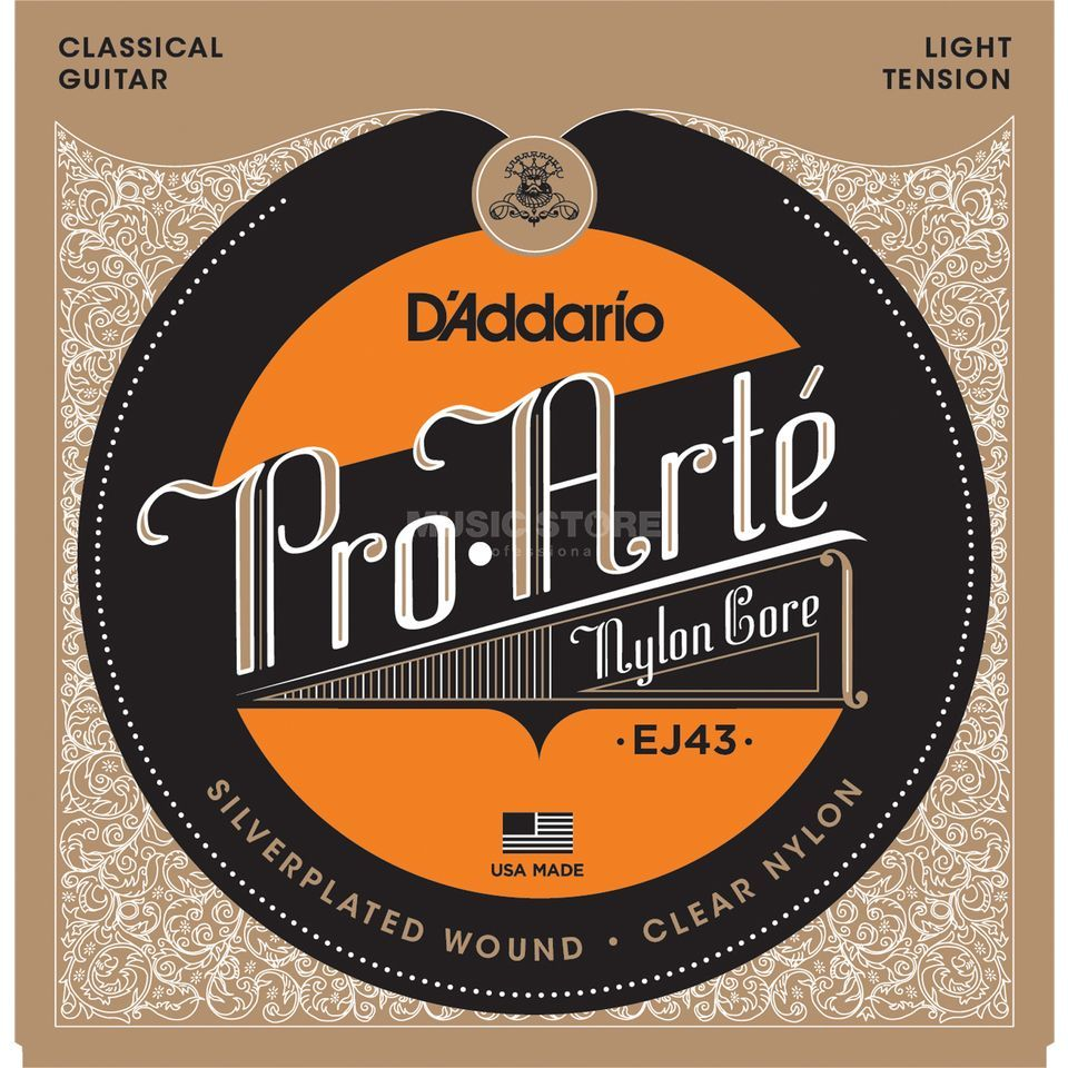 D'Addario K-Git.Saiten Pro Arte EJ43 Silverplated, Light Produktbild