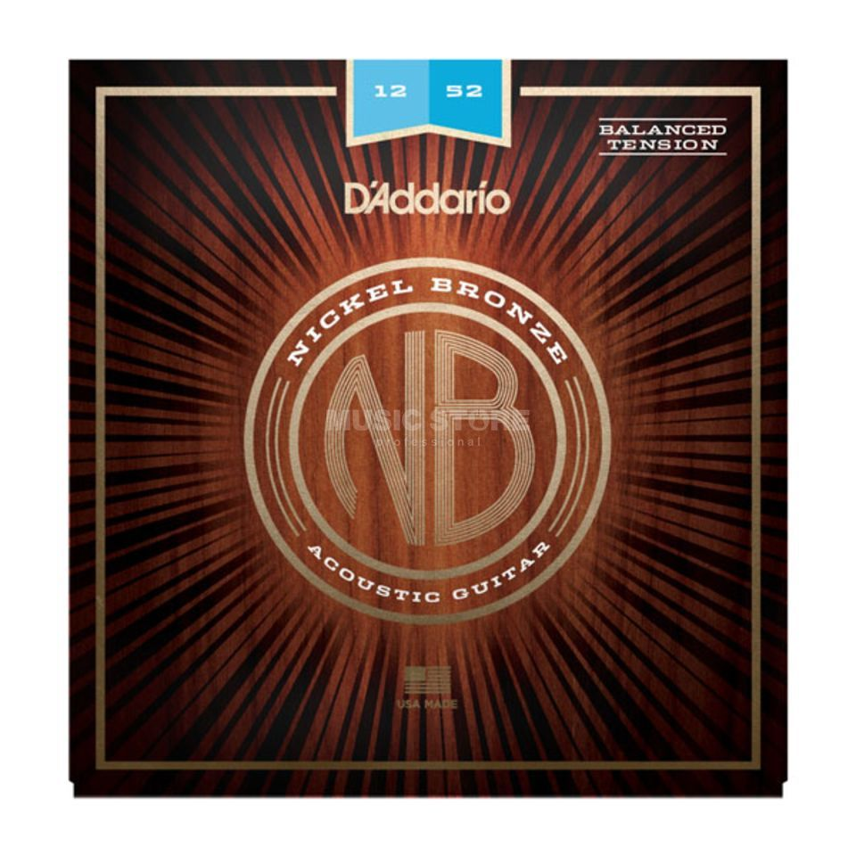 D'Addario NB1252BT Nickel Bronze Product Image