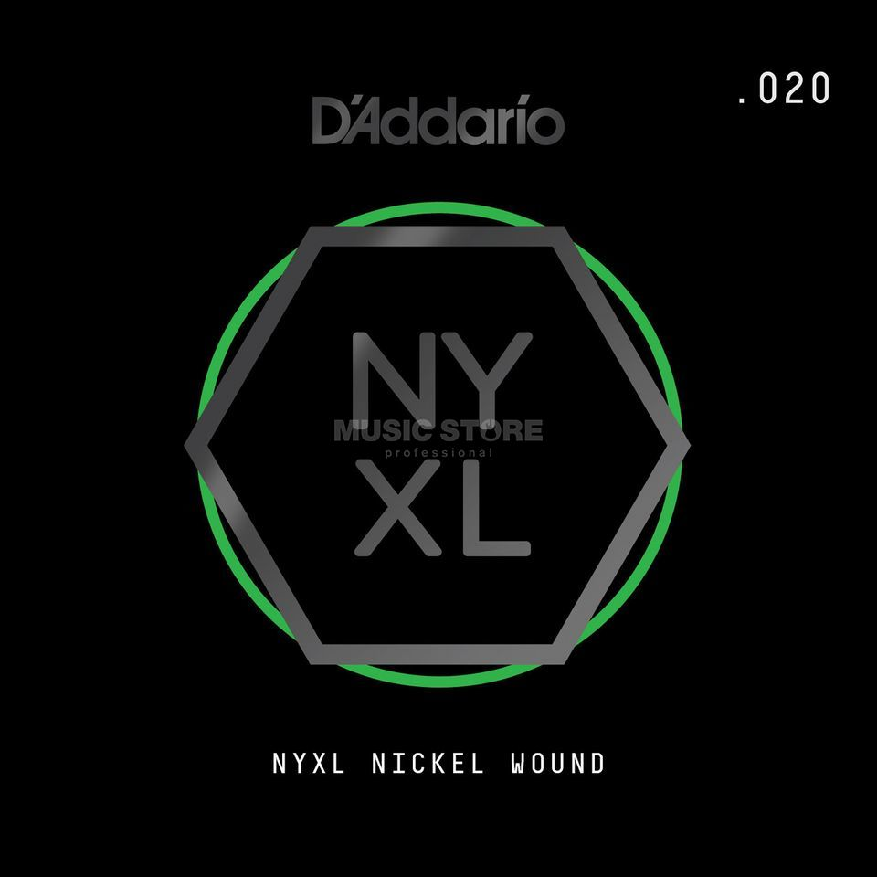 D'Addario NYNW020 Single String Nickel Wound Image du produit
