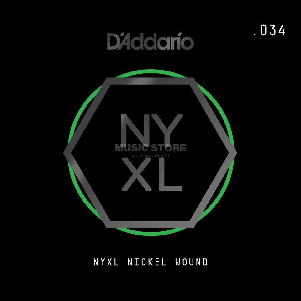 D'Addario NYNW034 Single String Nickel Wound Product Image