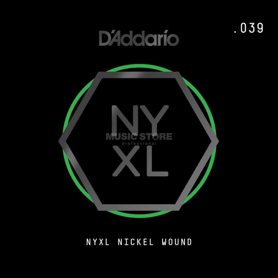 D'Addario NYNW039 Single String Nickel Wound Image du produit