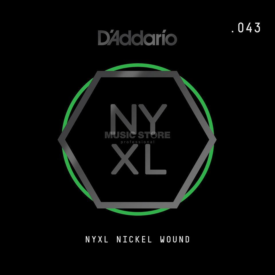 D'Addario NYNW043 Single String Nickel Wound Product Image