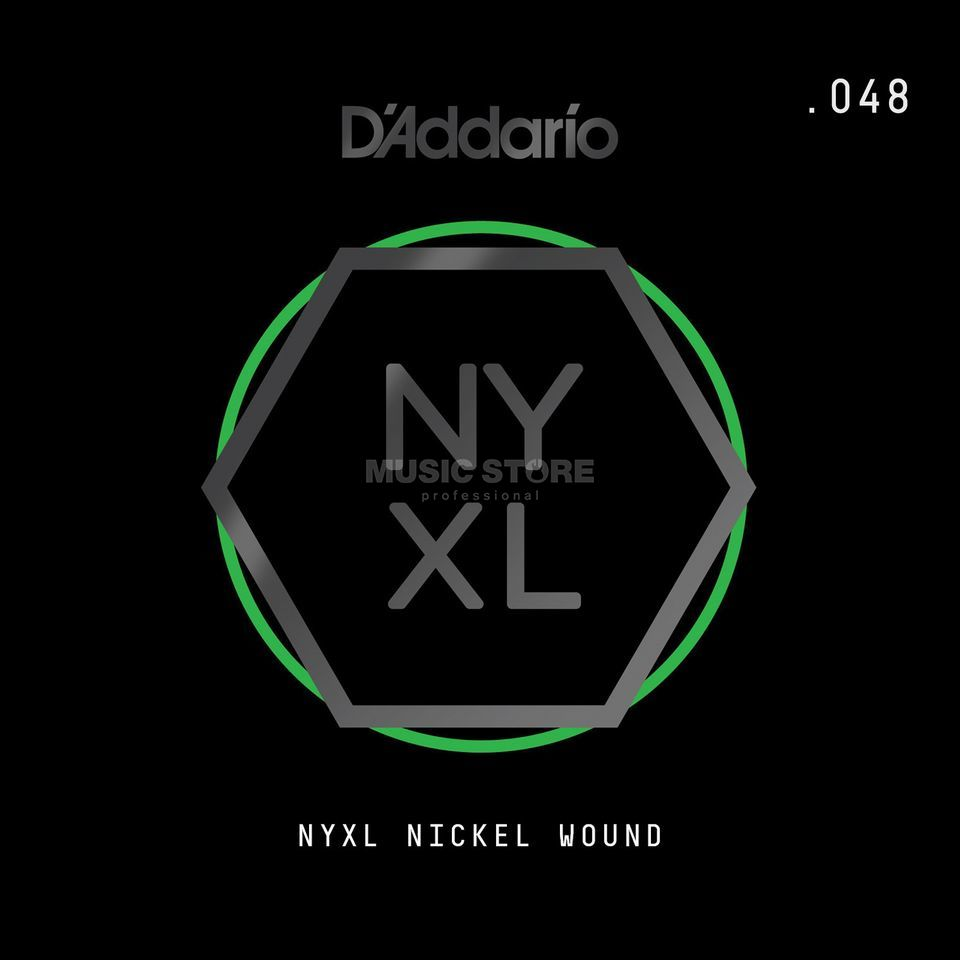 D'Addario NYNW048 Single String Nickel Wound Productafbeelding