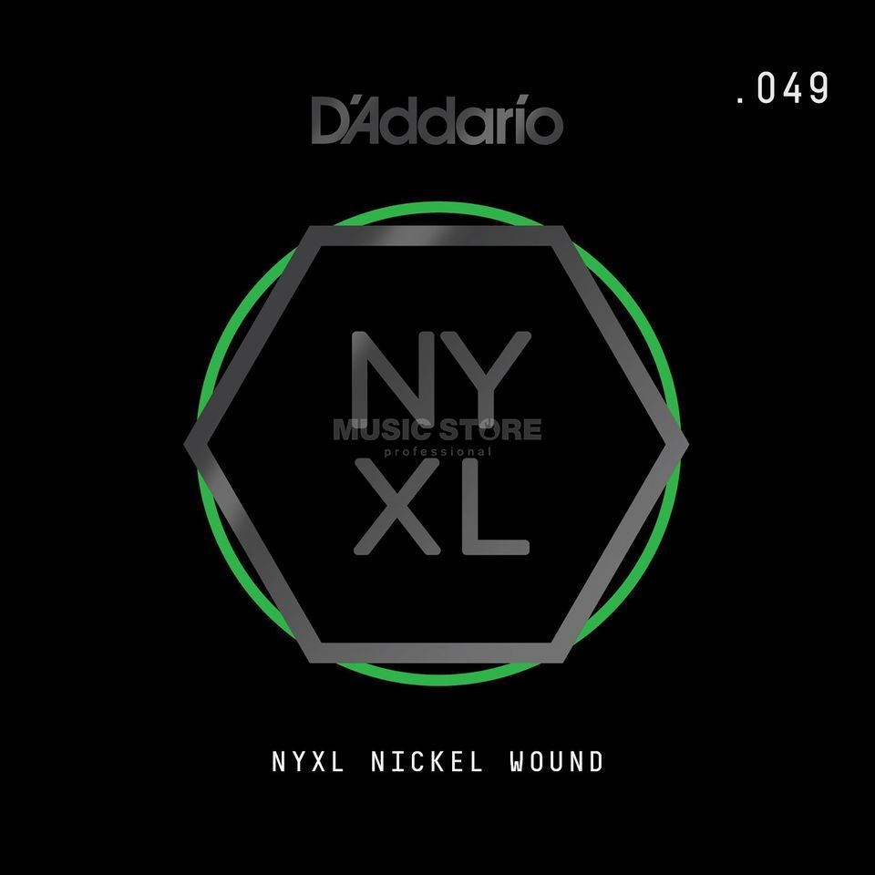 D'Addario NYNW049 Single String Nickel Wound Produktbillede