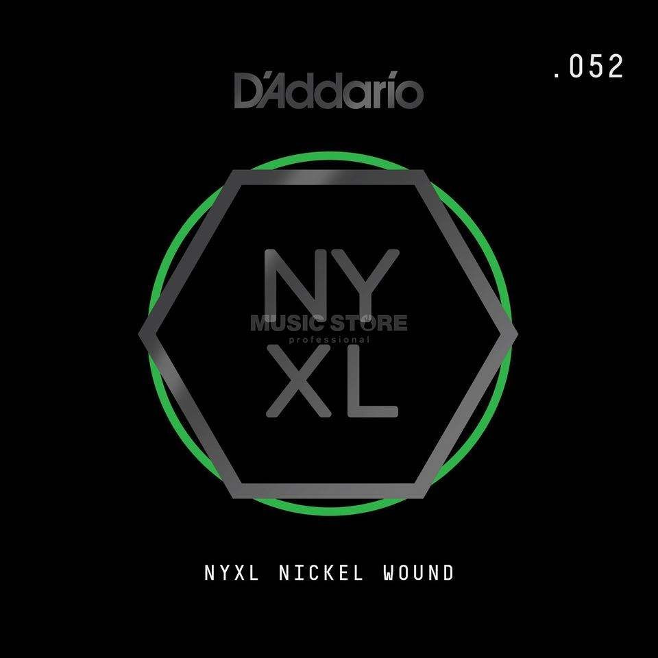 D'Addario NYNW052 Single String Nickel Wound Productafbeelding