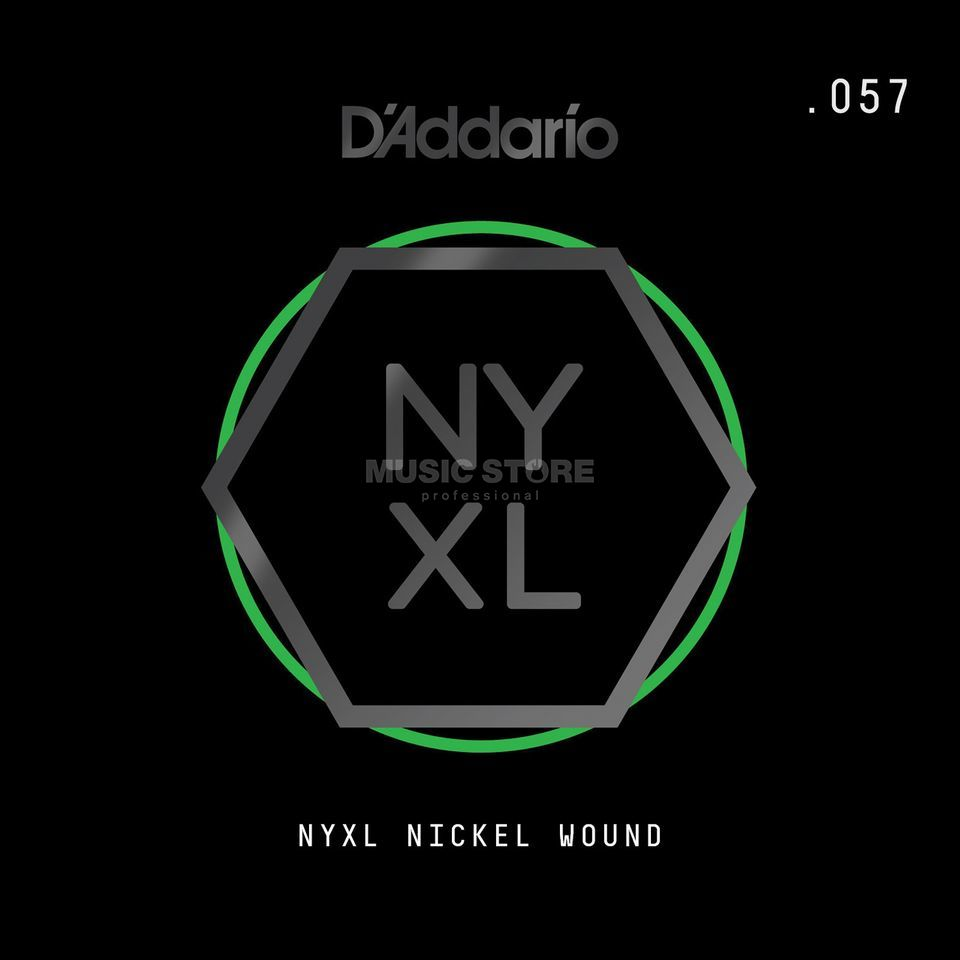 D'Addario NYNW057 Single String Nickel Wound Image du produit