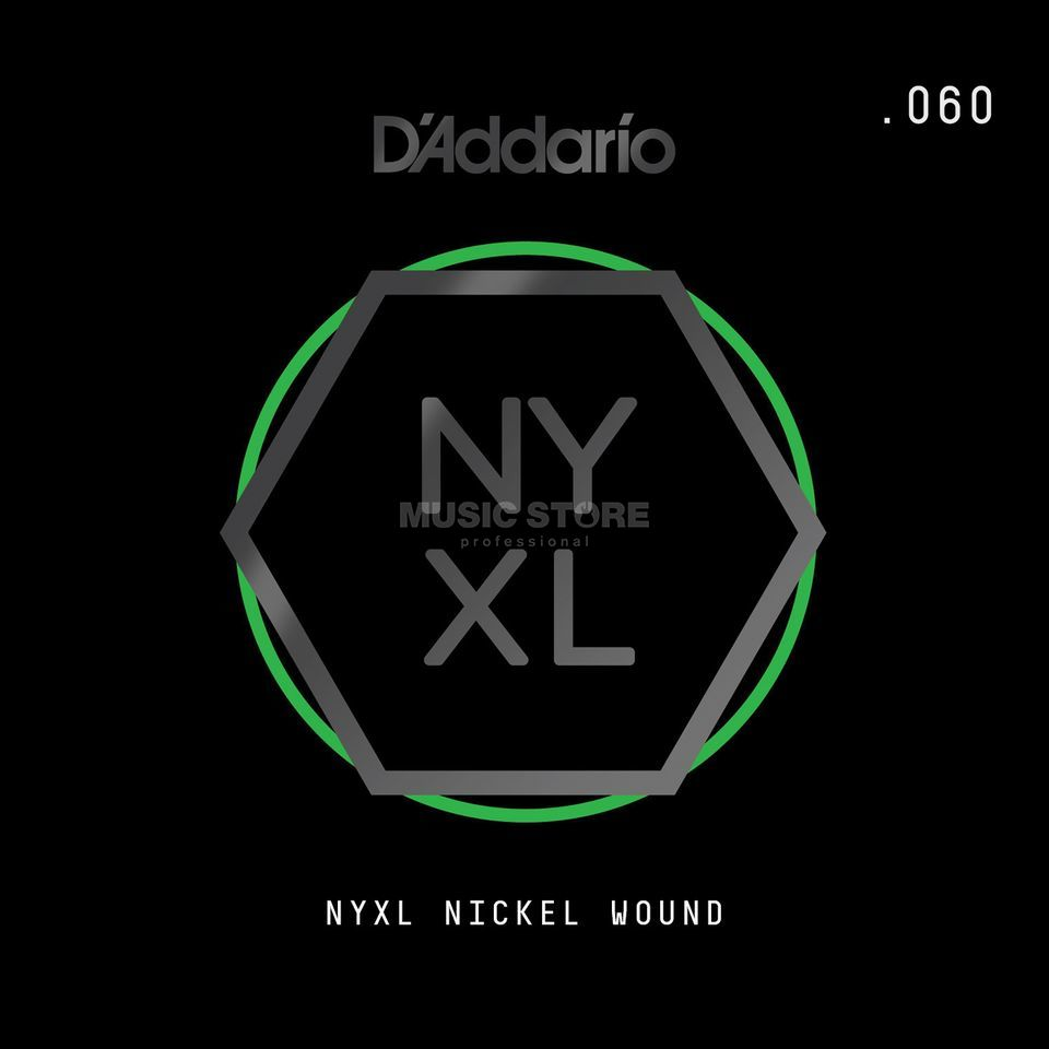 D'Addario NYNW060 Single String Nickel Wound Immagine prodotto