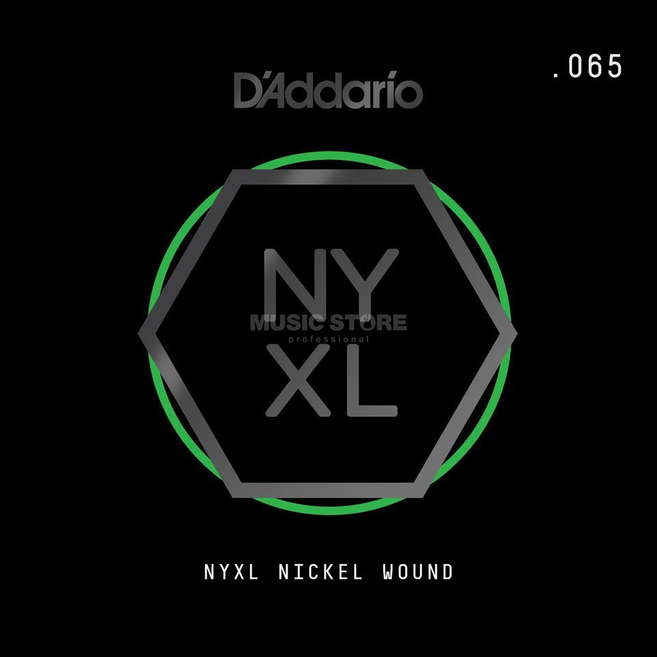D'Addario NYNW065 Single String Nickel Wound Productafbeelding