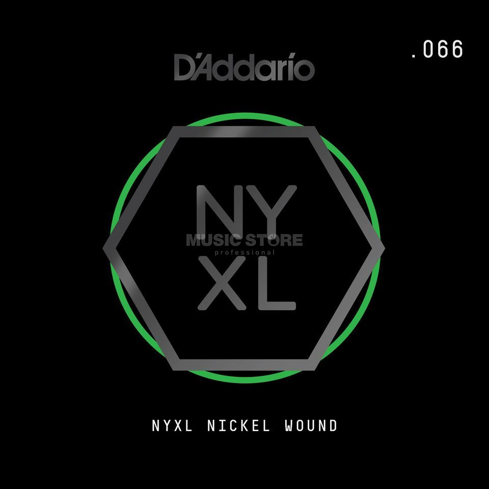 D'Addario NYNW066 Single String Nickel Wound Product Image