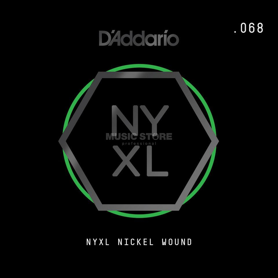 D'Addario NYNW068 Single String Nickel Wound Product Image