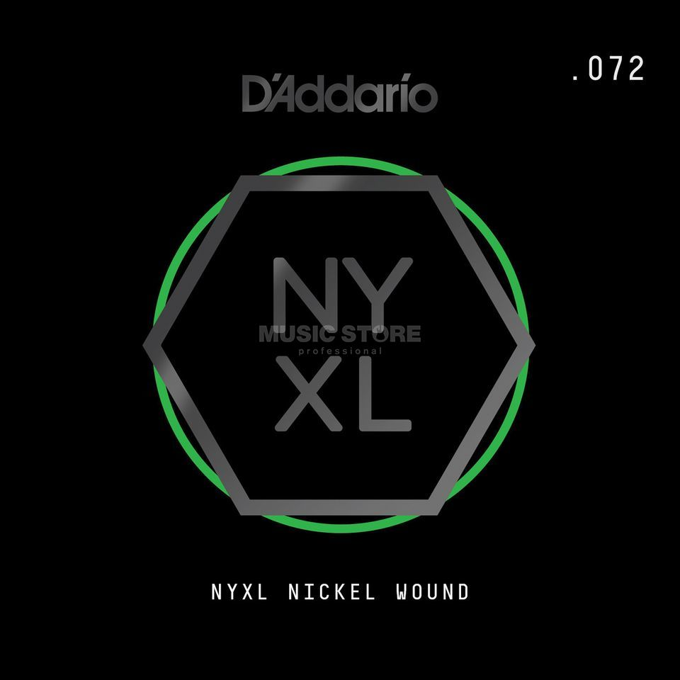 D'Addario NYNW072 Single String Nickel Wound Product Image