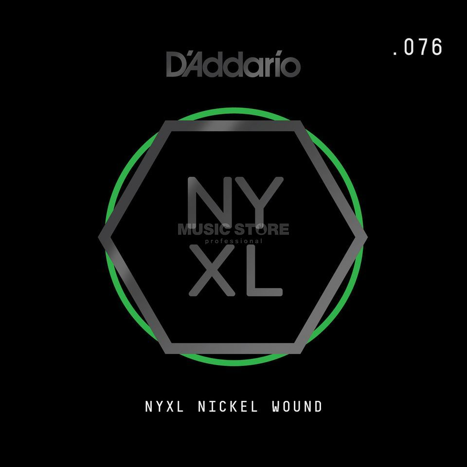 D'Addario NYNW076 Single String Nickel Wound Product Image