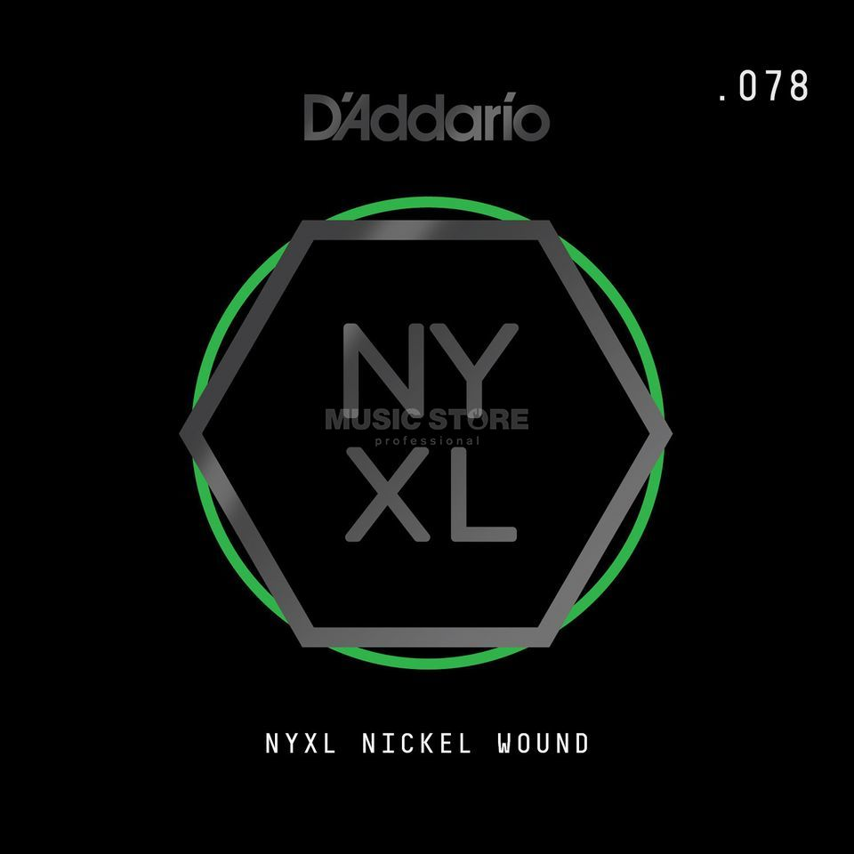 D'Addario NYNW078 Single String Nickel Wound Product Image