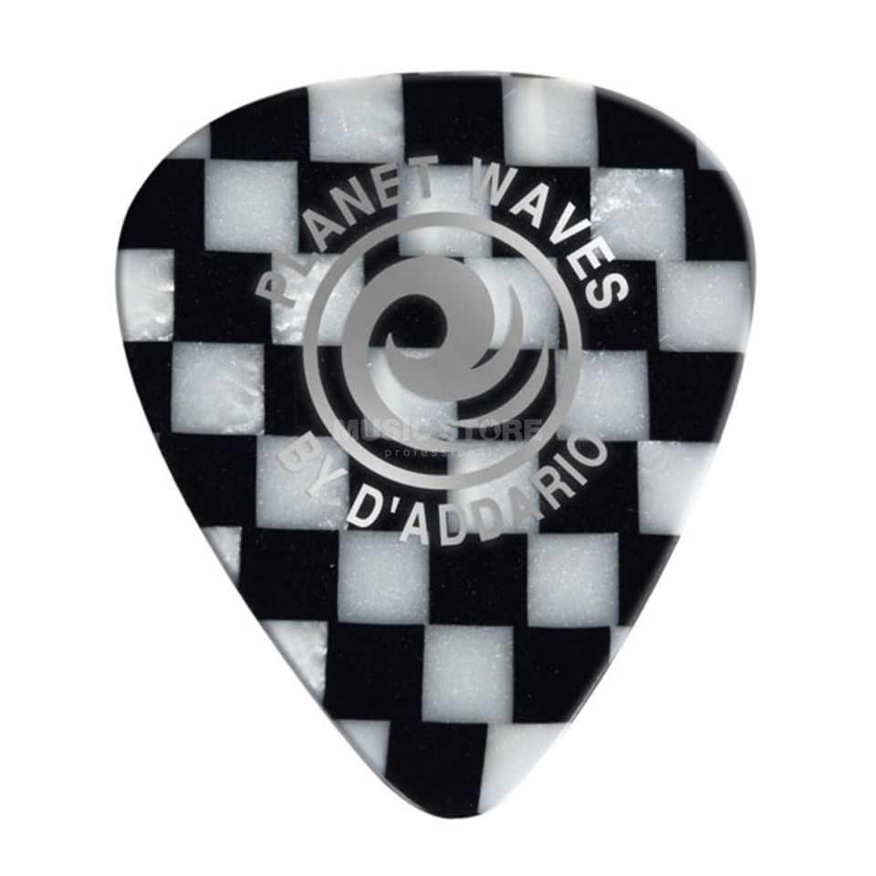 D'Addario Planet Waves Checkerboard Picks 1,25 mm 10-Pack, 1CCB7-10 Produktbillede