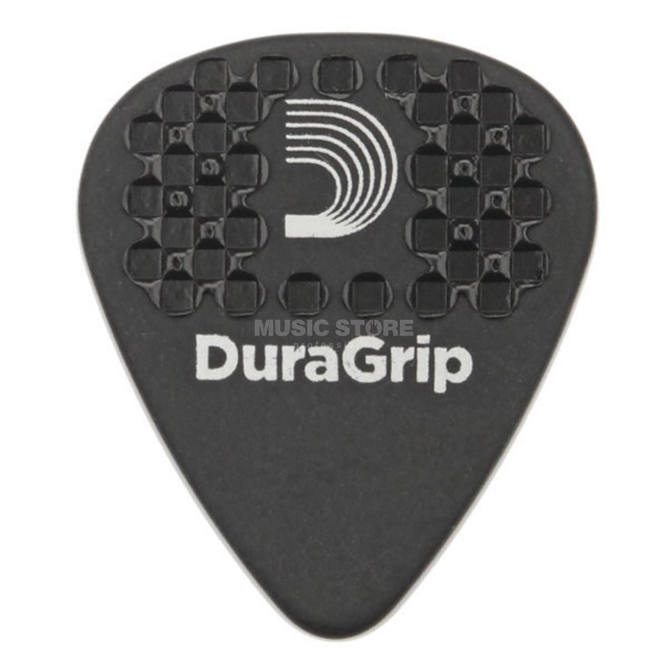 D'Addario Planet Waves DuraGrip Picks Extra Heavy 10-Pack, 7DBK7-10 Product Image