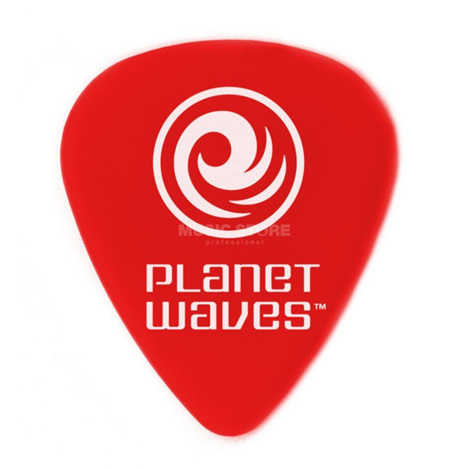 D'Addario Planet Waves Duralin Precision Picks 0,50mm 10-Pack, 6DRD1-10 Produktbild