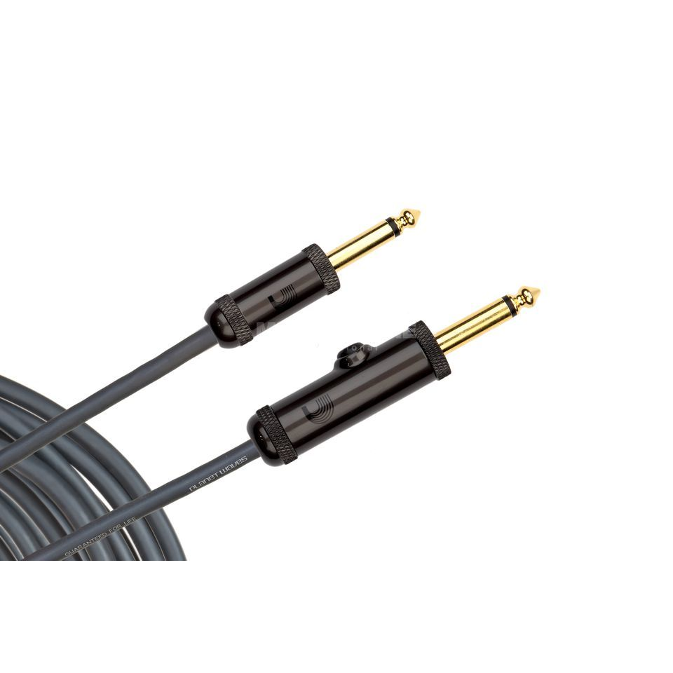 D'Addario Planet Waves Instrument cable 3 meters PW-AG-10 Produktbillede