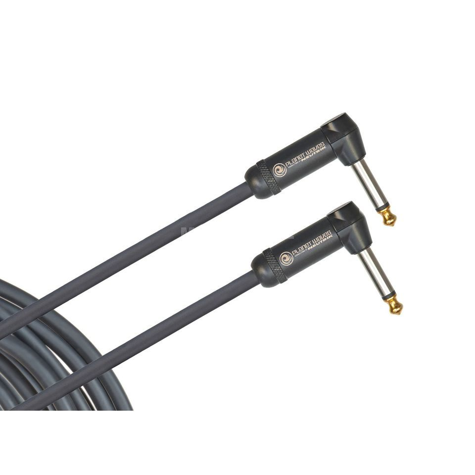 D'Addario Planet Waves PW-AMSGRR-20 American Stage 6m 2x angled - Instrument Cable Product Image