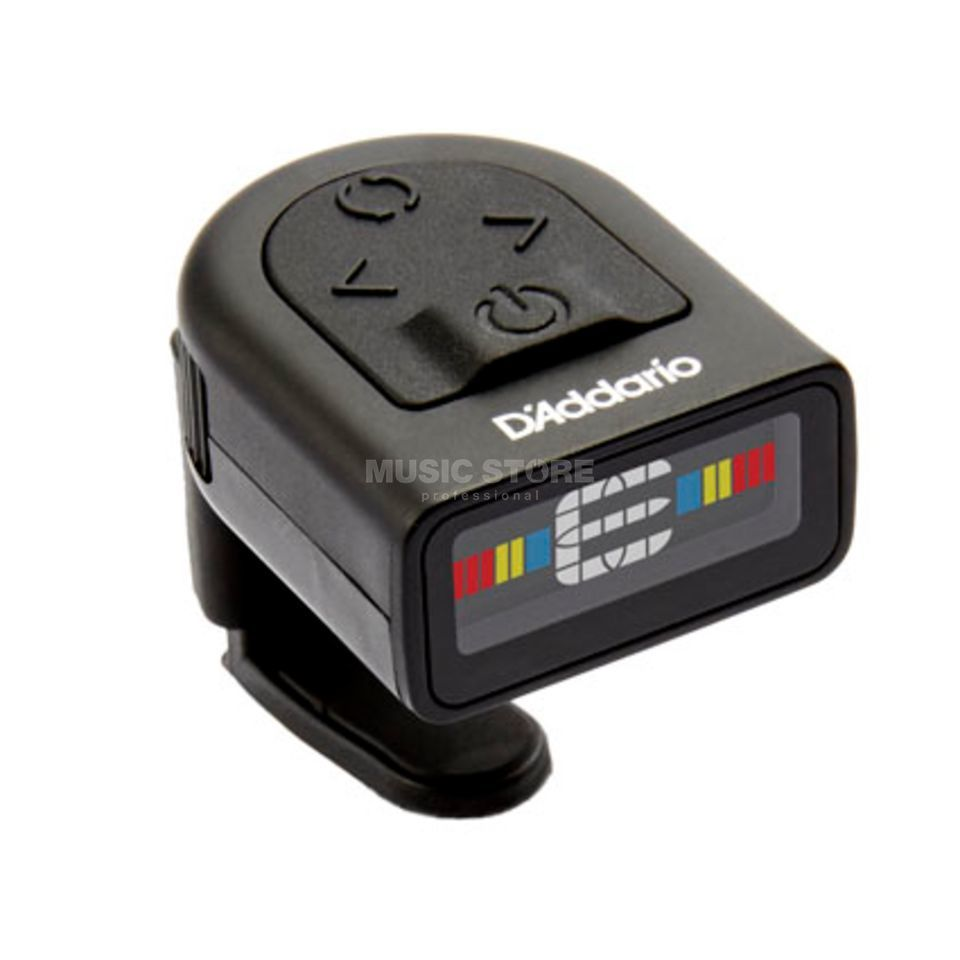 D'Addario Planet Waves PW-CT-12 NS Micro Headstock Tuner mit Metronom Produktbild