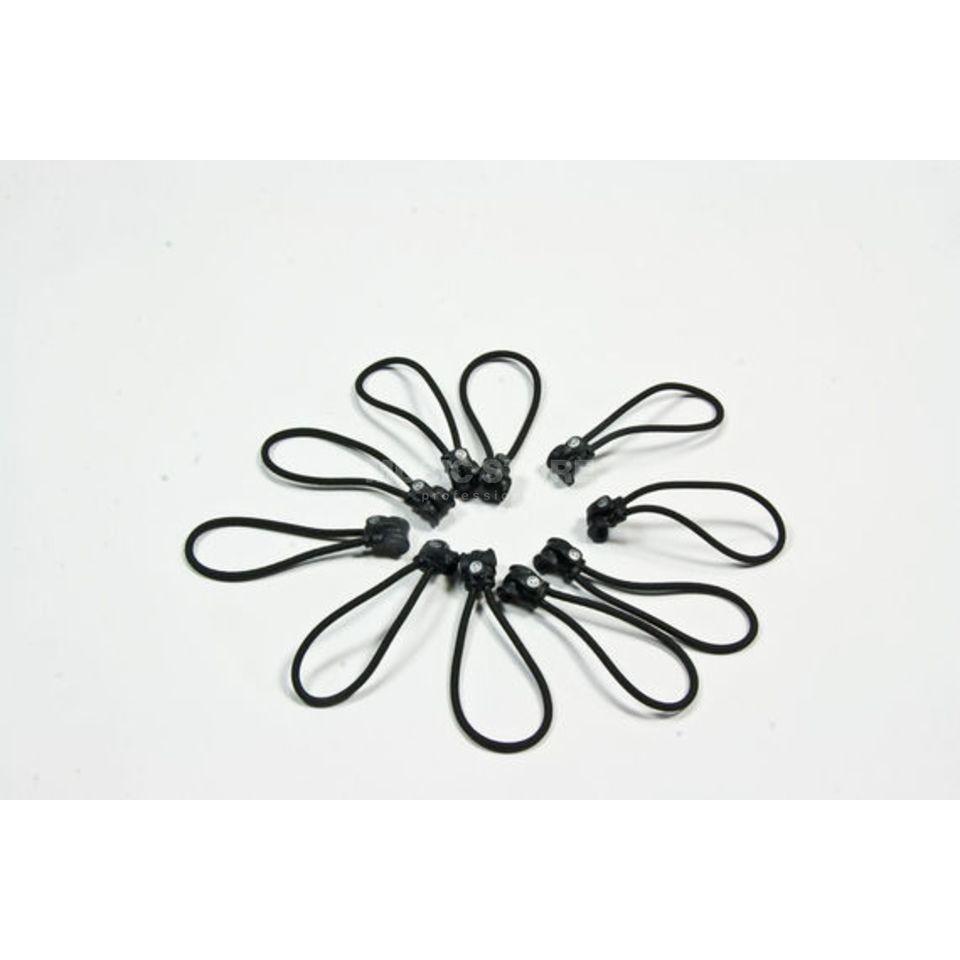 D\'Addario Planet Waves PW-ECT 10 Kabelbinder elastisch,10er Pack