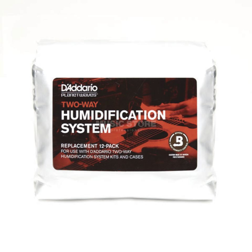 D'Addario Planet Waves PW-HPRP-12 Humidification Replacement 12er Pack Produktbild