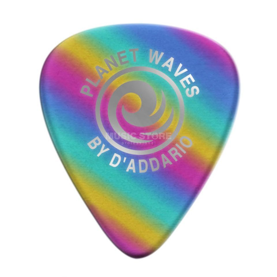 D'Addario Planet Waves Rainbow Picks 0,50 mm 10-Pack, 1CRB2-10 Produktbillede