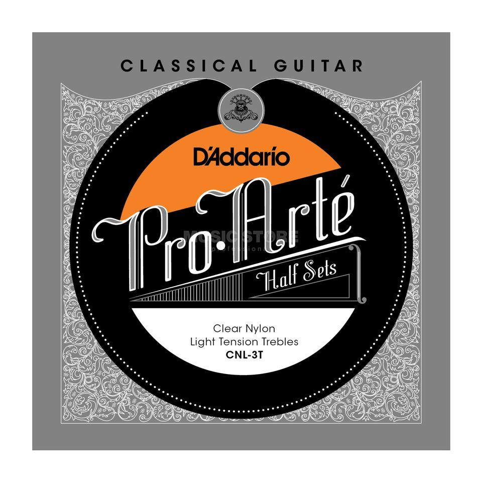 D'Addario Pro Arte Diskant Set CNL-3T Clear Nylon, Light Product Image