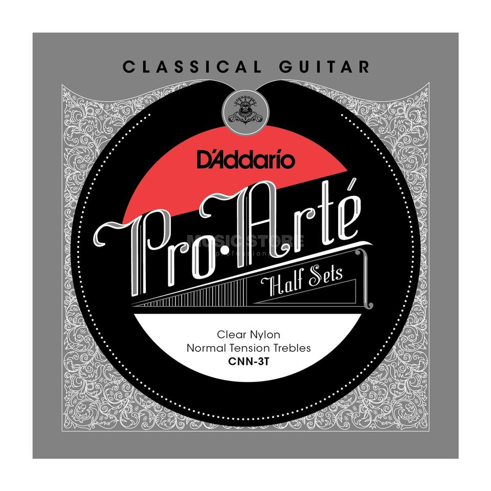 D'Addario Pro Arte Diskant Set CNN-3T Clear Nylon, Normal Produktbild