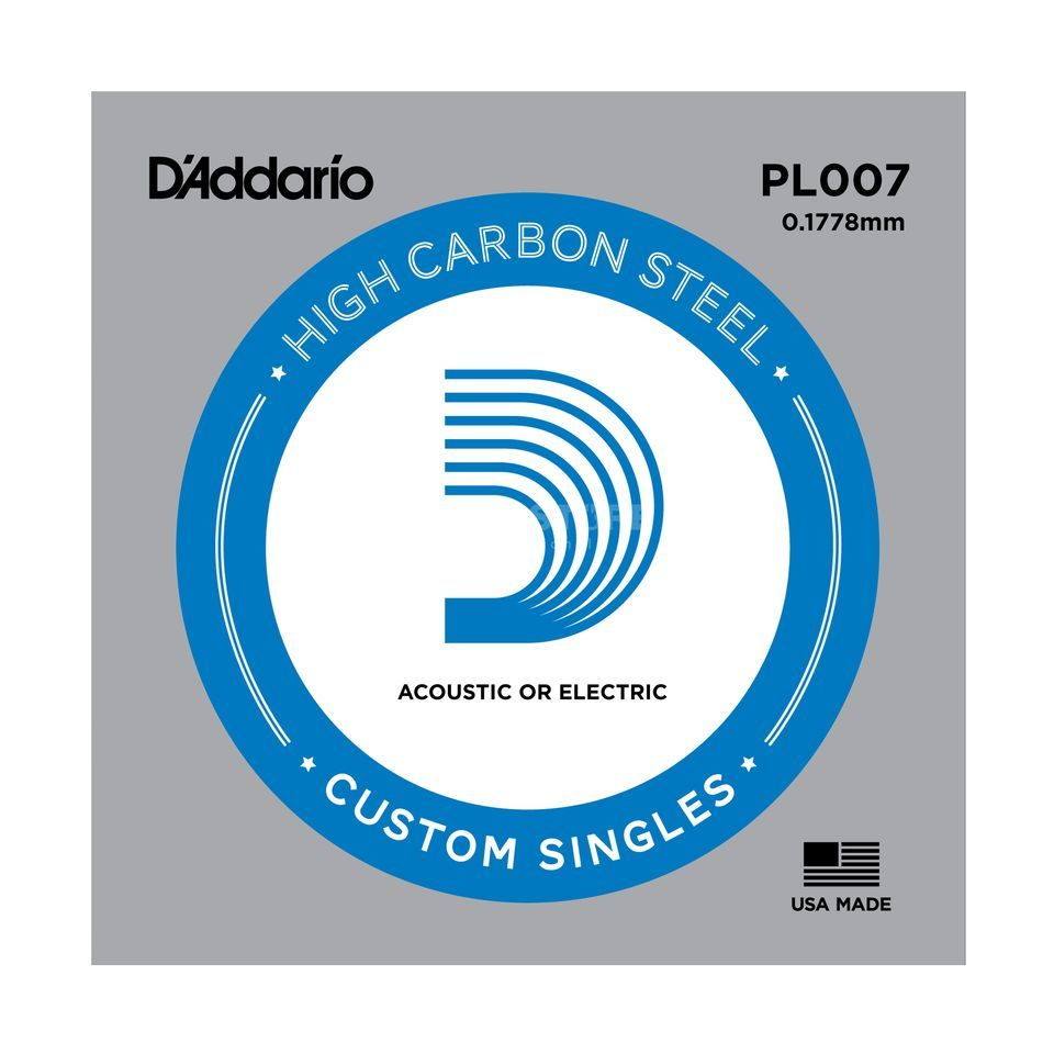 D'Addario Single String PL007 Plain  Produktbillede