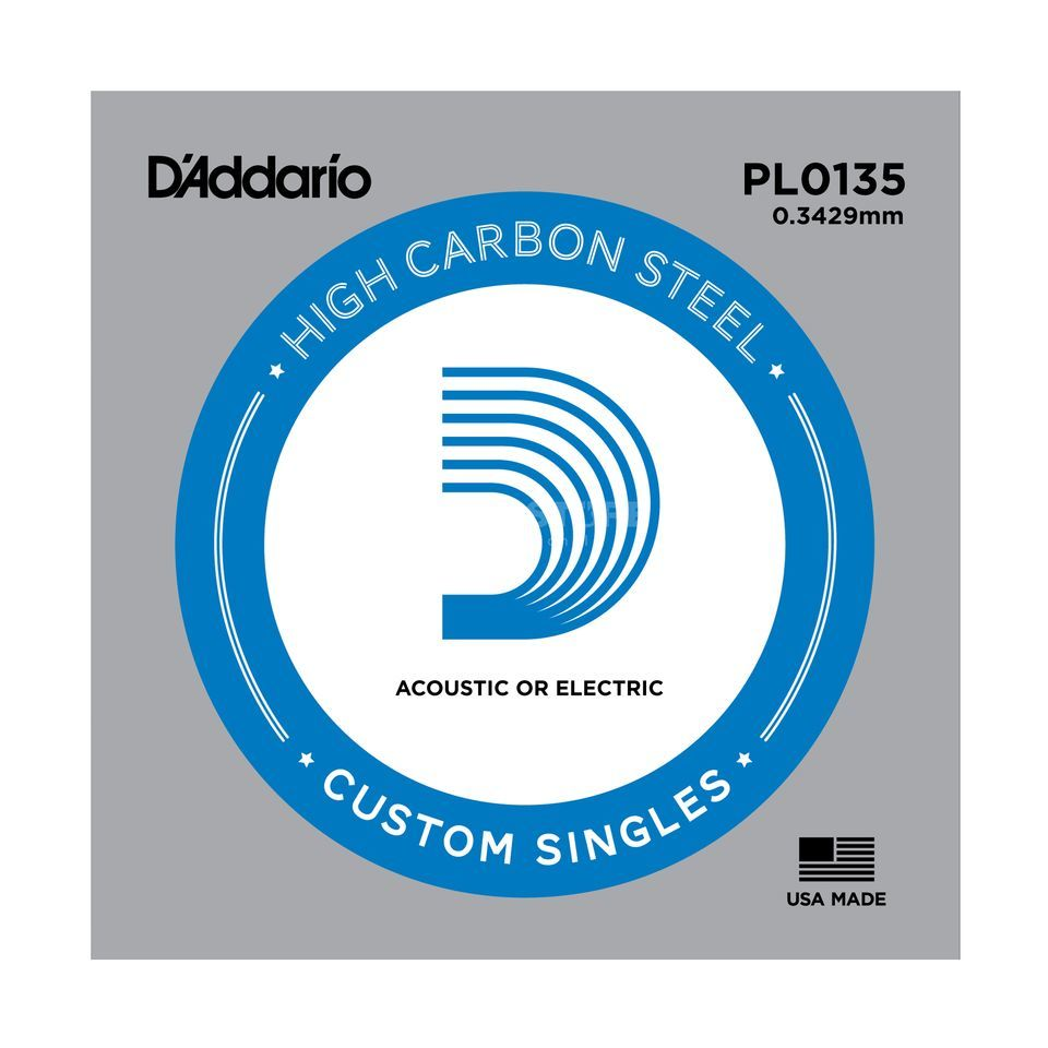 D'Addario Single String PL0135 Plain  Produktbillede