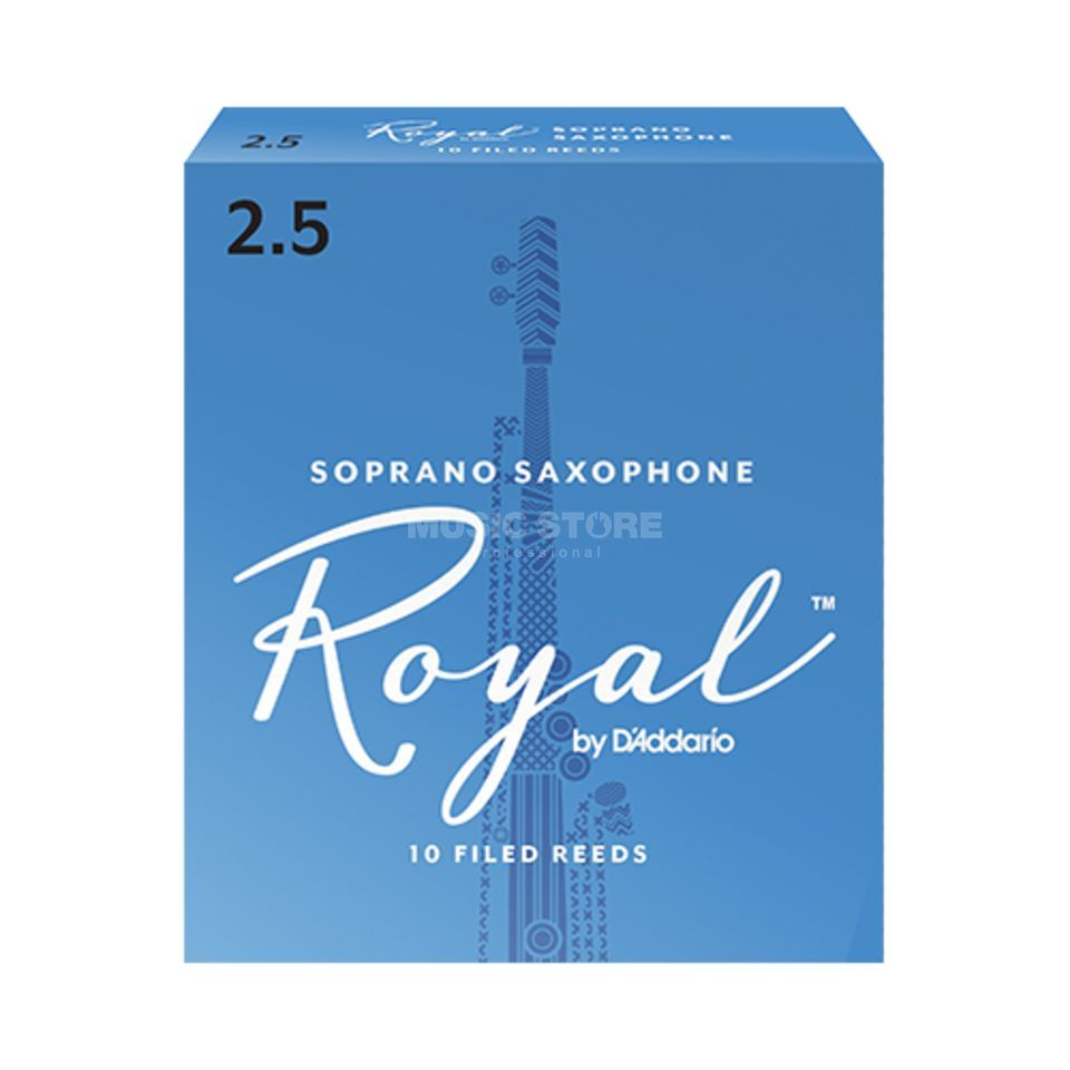 D'Addario Soprano Saxophone Reeds 2.5 Box of 10 Product Image