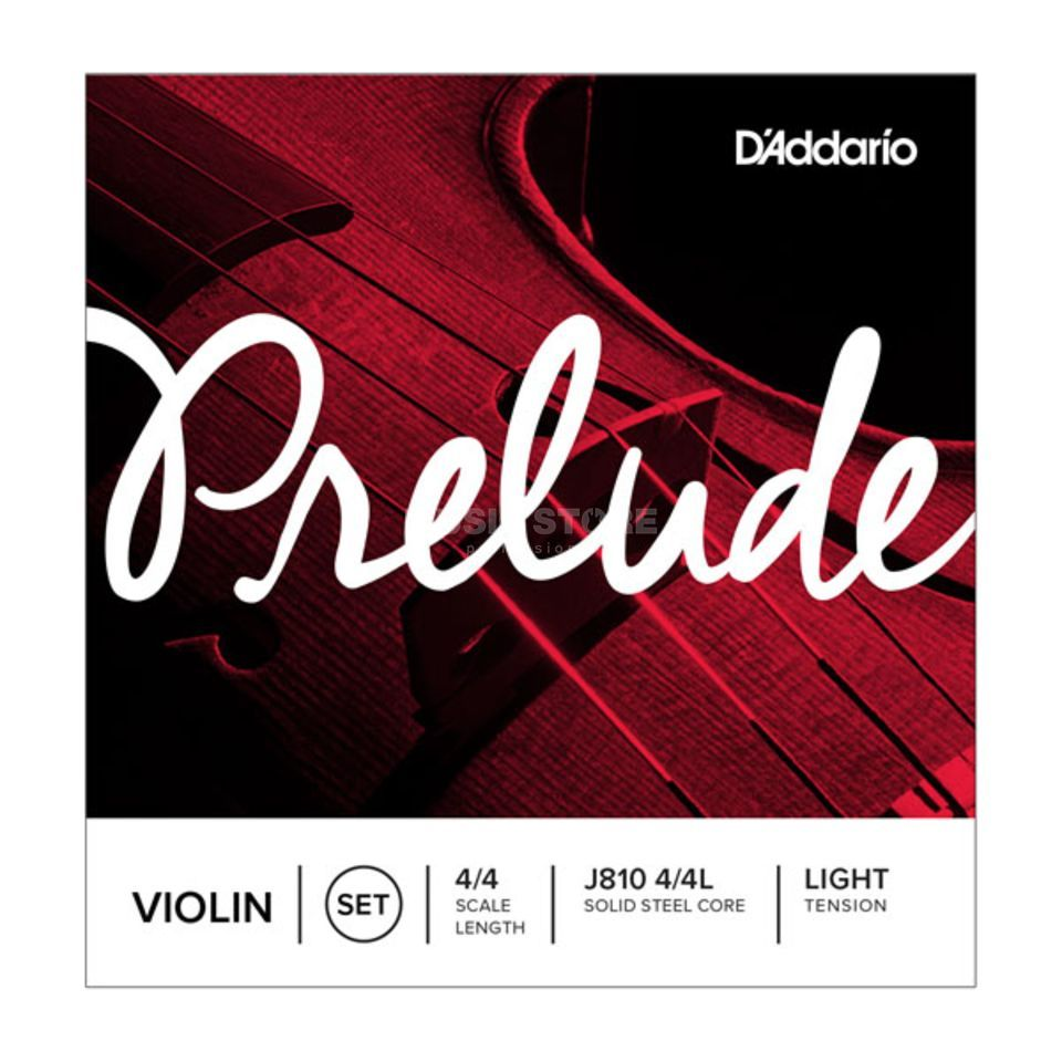 D'Addario Violin String Prelude J810-4/4 Light Tension Produktbillede