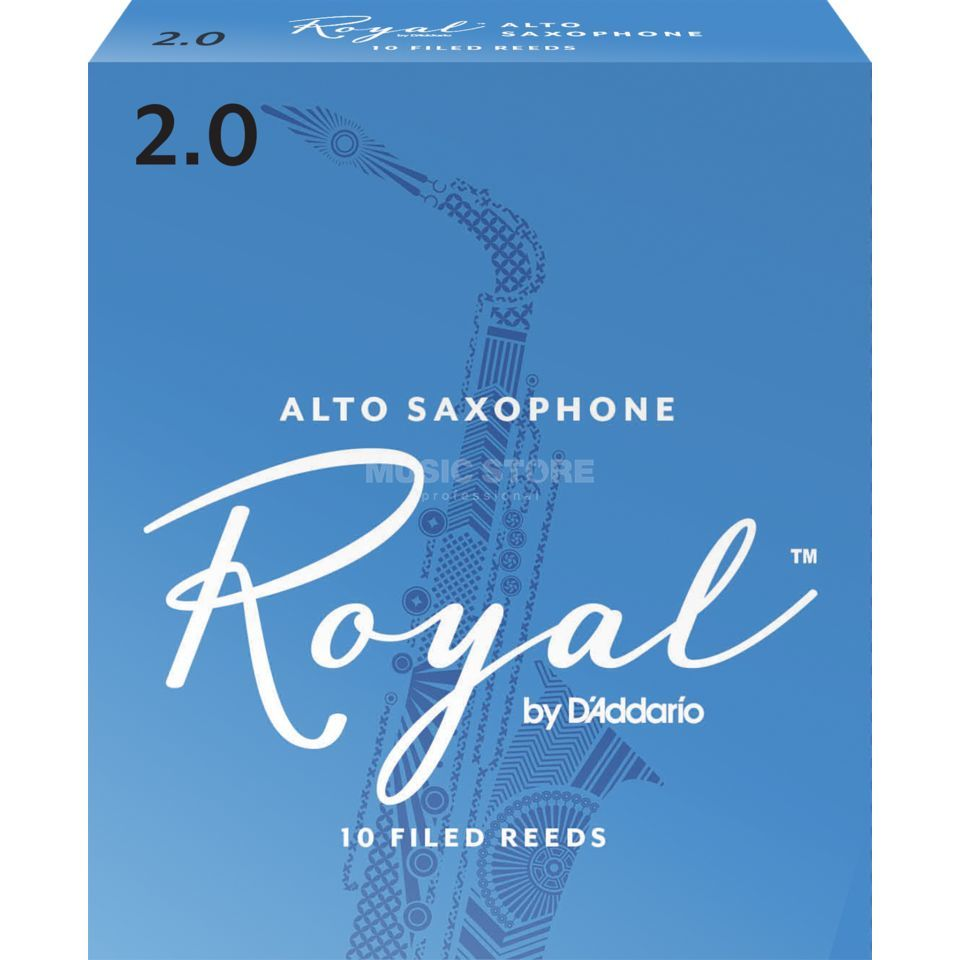 D'Addario Woodwinds Alto Saxophone Reeds 2 Box of 10 Product Image